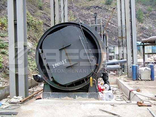 Plastic To Oil Machine in Korea