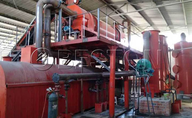 Rice Husk to Charcoal Carbonization Machine