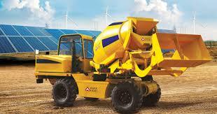 self loading concrete mixer trucks