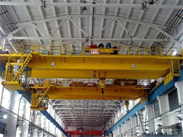 Salling overhead crane 100t in China