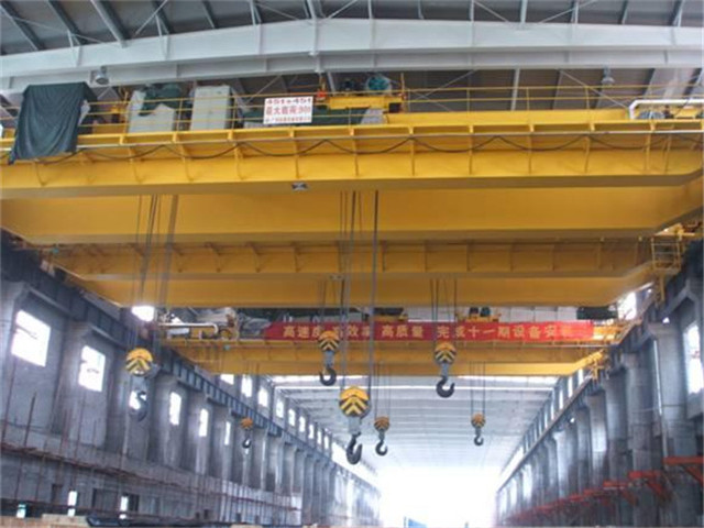 The price of a overhead crane 100 tons from China