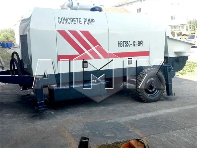 Trailer Concrete Pumps