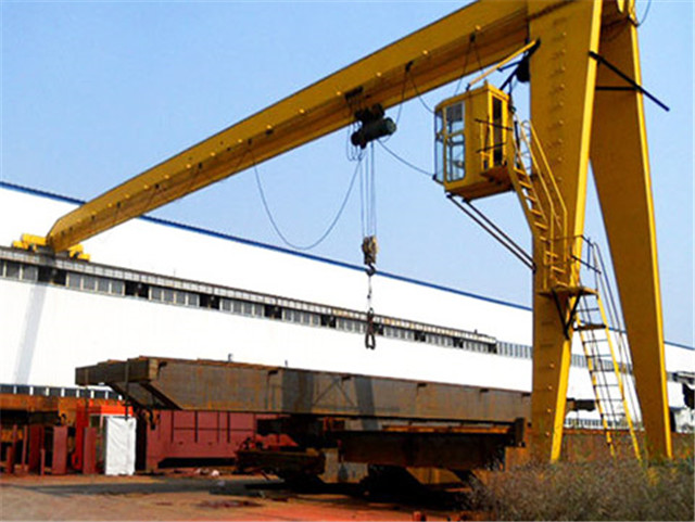 China 5 ton semi gantry crane sale